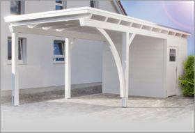 Gut bekannt Carport mit Abstellraum - Vorhandener Platz effektiv genutzt MF14